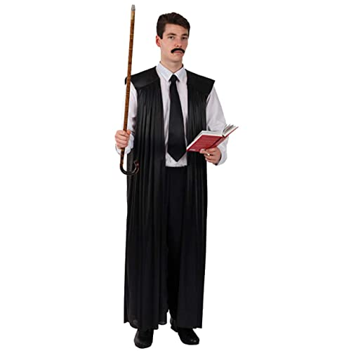 Deluxe Headmaster Teacher Robes Fancy Dress Costume UK Made