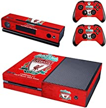 REYTID Liverpool Xbox One Console Skin/Sticker + 2 x Controller Decals & Kinect Wrap - Full Set - Microsoft XB1
