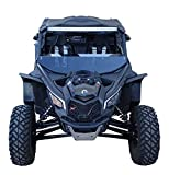 MudBusters Fender Extensions for BRP Can-AM Maverick X3 Fenders Full Set (Large Front Fenders)