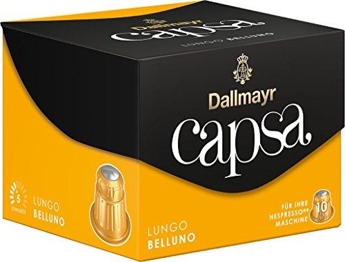 Dallmayr Kaffee Capsa Lungo Belluno Kaffeekapseln, 5er Pack (5 x 10 Kapseln)