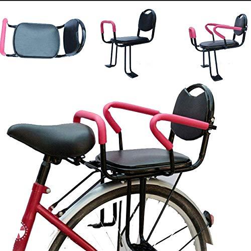 NIHAOA Kinderfahrradsitz, Rück Bike Kinder-Sicherheits-Sitz Baby-Sattel-Kissen Kind Zaun Stuhl spezieller Baby-Sicherheits-Sitz Adult Bike Befestigung (Color : -, Size : -)