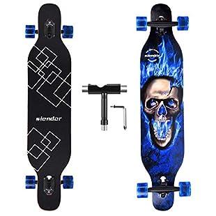 kids longboard skateboard