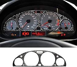 GZXinWei Interior Carbon Fiber Car Dashboard Instrument Panel Screen Protective Sticker