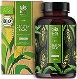 Holi Natural® BIO Gerstengras | 180 Kapseln | 3600mg je Tagesdosis | Nachhaltiger deutscher Anbau | Hochdosiert, vegan, ohne unerwünschte Zusätze (180 Kapseln)