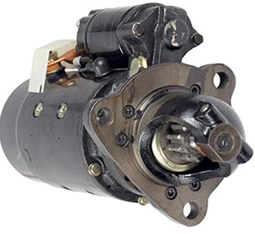 Rareelectrical NEW STARTER MOTOR COMPATIBLE WITH CASE TRACTOR 2390 2394 2590 2594 3294 3394 3594 6-504 DIESEL
