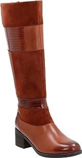 CLARKS Wohombres Nevella Nova Riding bota, Tan Multi Leather, 10 M US