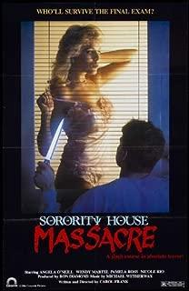 Sorority House Massacre Movie Poster (27 x 40 Inches - 69cm x 102cm) (1986) -(Angela O'Neill)(Wendy Martel)(Pamela Ross)(Nicole Rio)(John C. Russell)(Marcus Vaughter)
