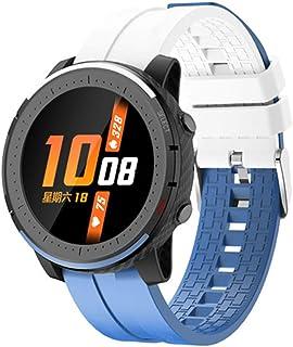 AEF Smartwatch, IP67 Prueba Agua, Pulsera Actividad Inteligente Impermeable Inteligente Reloj Deportivo Pantalla Táctil Completa con Pulsómetro Cronómetro Pulsera Deporte para Hombres Mujeres,Azul
