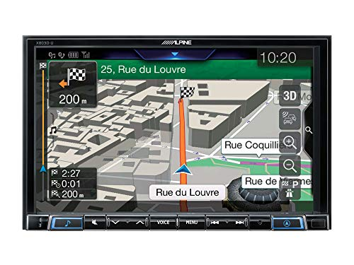 Alpine X803D-U Autoradio 8' 2 DIN TomTom Apple CarPlay Android Auto DAB