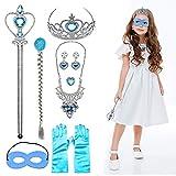JUSTIDEA 11 Pièces Princesse Habillage Accessoires Diadème Filles Carnaval Costumes...