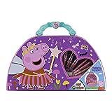 Cefa Toys- Maletín artístico Peppa Pig, Multicolor (21864)
