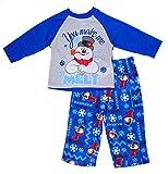 Frosty the Snowman Little Boys' Christmas Holiday Family Pajama Set, 2T, Frosty Blue
