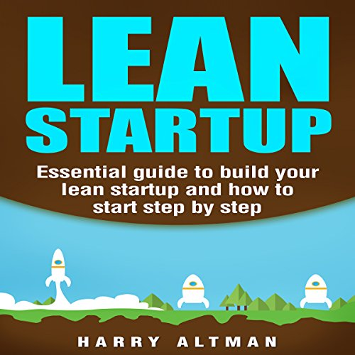 Lean Startup audiobook cover art
