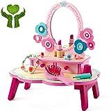 Priority Culture Juguete de Maquillaje niña Maquillaje Infantil Dresser Simulation Dress Up Toys Princess Toy Makeup Set para Niñas Makeup Toy Girls Regalos De Cumpleaños para Niñas De 3 A 10 Años