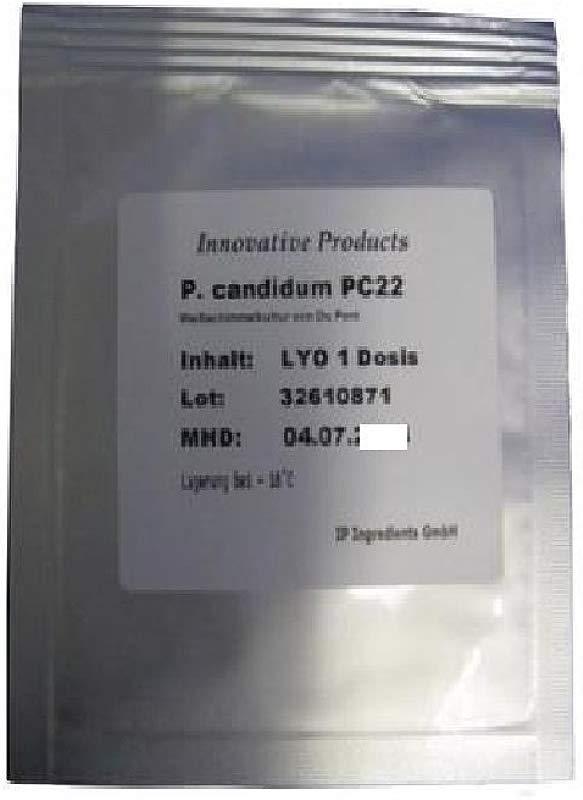 CHEESE CULTURE PENICILLIUM CANDIDUM PC22 FAST GROWTH
