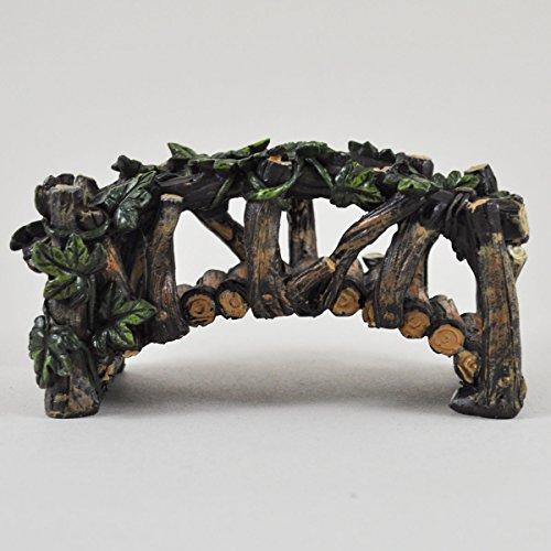 Fée Jardin anglais pont en bois de jardin miniature Décoration de maison–Fée...