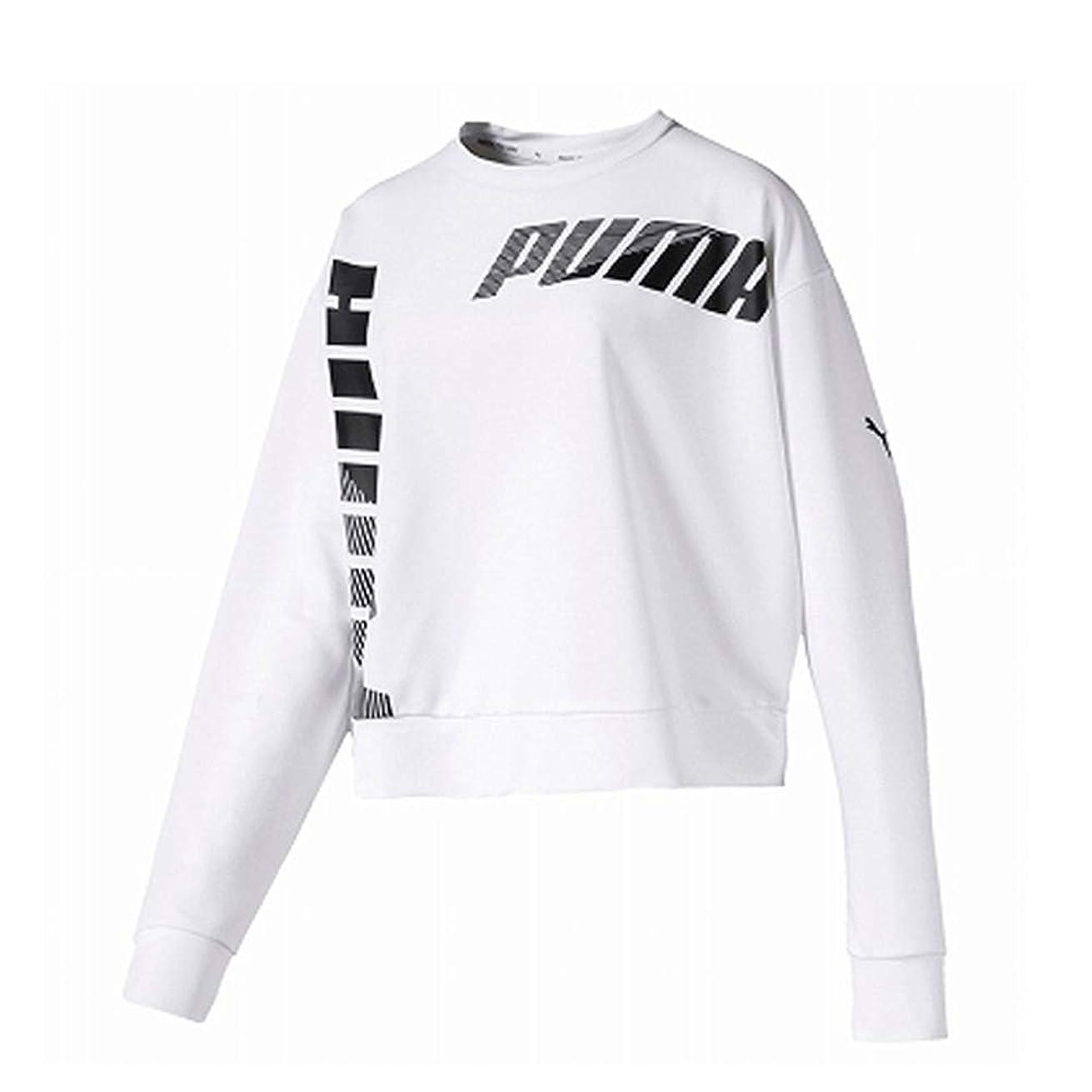 支援ホストあいまいスウェットシャツ レディース 上 PUMA MODERNSPORT