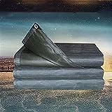 MSF Lonas Protección exterior de la sombrilla de tela Tres Ronda camión grande lona aceite del aislamiento Lona Pintada grueso poncho impermeable lona de 550 g / m2 (Size : 2 * 5m)