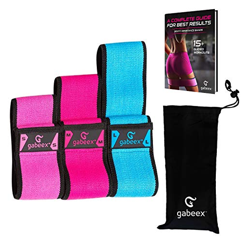 Gabeex Non-Slip Fabric Booty Bands