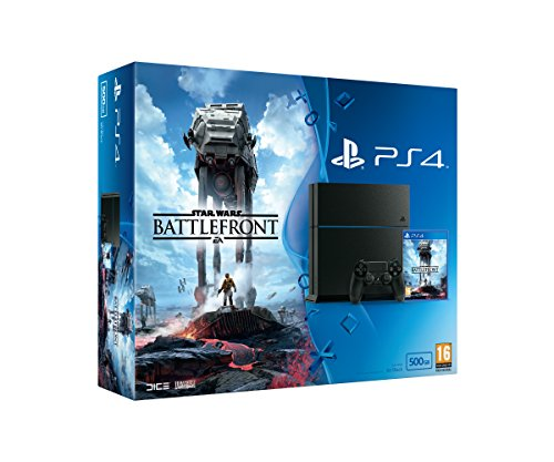 Photo of Sony PlayStation 4 500GB with Star Wars Battlefront