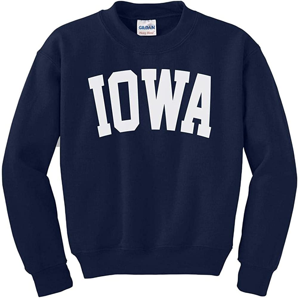 Iowa Lowest price challenge Arlington Mall College Style Kids Sweatshirt Youth