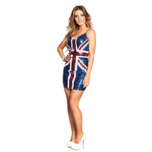 1990/'s fancy dress ginger spice Union Jack  Ladies Fancy Dress Costume