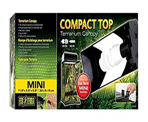 Exo Terra Compact Top Mini Terrarienabdeckung für Terrarien mit einer Breite von 30 cm