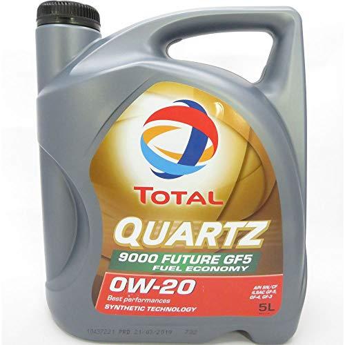 Total 5 litros Quartz 9000 Future GF5 0W-20