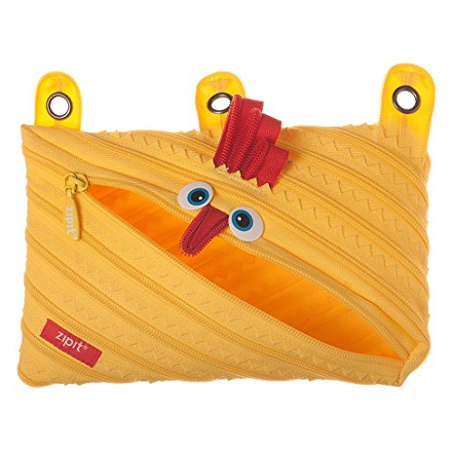 ZIPIT Animals 3 Ring Pencil Case, Chicken