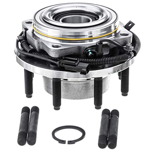 [1-Pack] HA590435 - FRONT Driver or Passenger Side Wheel Hub Bearing Assembly for 2011-2016 Ford F-250 Super Duty, 2011-2016 Ford F-350 Super Duty [4WD, Single Rear Wheel Models Only]