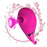 Vibratorelax Toe Curling C~Spôt Vîbrátör 10 Speed Massager Clịtorạl Sụcking Stịmulạtor IPX7 Waterproof 10 Modes Rechargeable Cute Design Sê-x töyş for Womẹn Daily Recovery Use (Pink)
