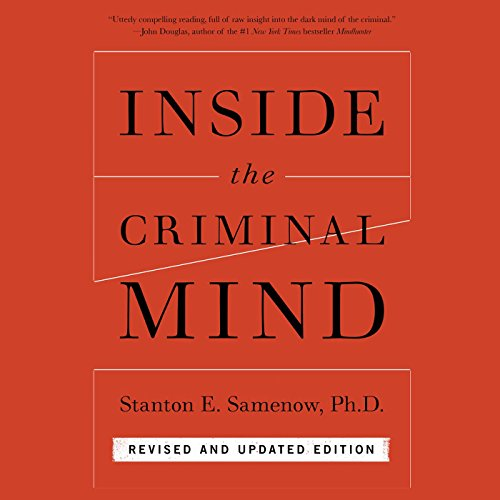 Inside the Criminal Mind audiobook cover art
