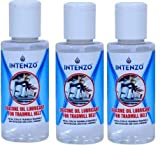 Intenzo Silicone Oil Lubricant for Treadmill Belt in 100ml Bottle Pack 3