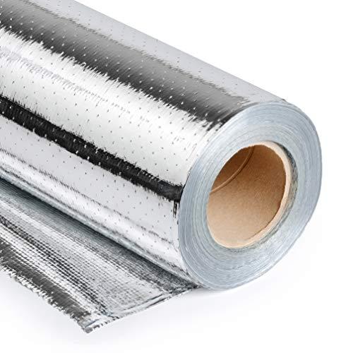 Radiant Barrier by Q-Lam - 48' (1000 or 500 sq-ft Rolls) Metalized Aluminum Attic Insulation Blocks...