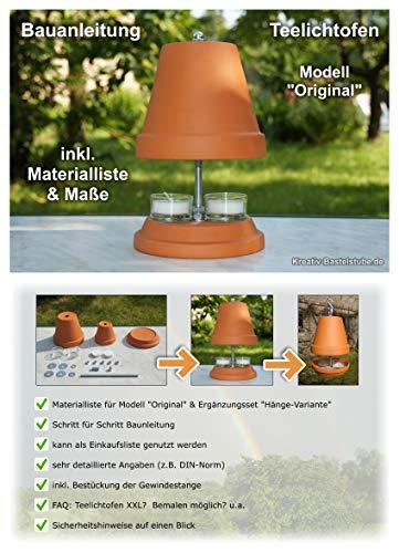 Teelichtofen Modell