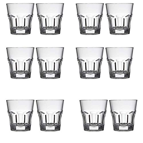 1.5-Ounce Heavy Base Shot Glass Set, Whiskey, Tequila Shot Glass 12-Pack