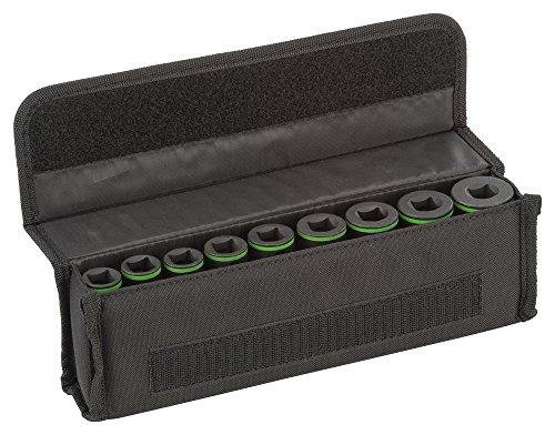 """Bosch ProfessionalPro 9tlg. Steckschlüsseleinsätze-Set mit 1/2""""-Innenvierkantaufnahme für Sechskantschraubenn (Länge: 77 mm)"""