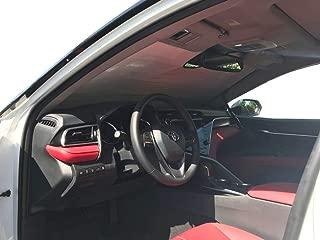 The Original Windshield Sun Shade, Custom-Fit for Toyota Camry Sedan 2018, 2019, Silver Series