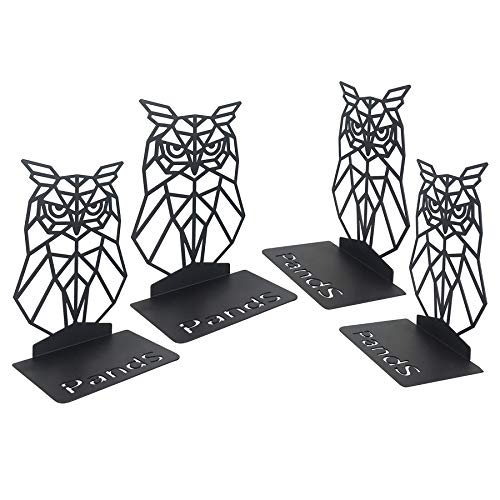 PandS Owl Geometric Bookends