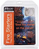 Bucky Fire Starters (Qty: 12) All Natural Starter for Charcoal & Wood Fires - Made in USA