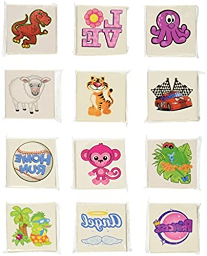 compra en línea hoy RINCO Temporary Assortment Tatoo Bulk Pack (720 (720 (720 Piece) by RINCO  hermoso