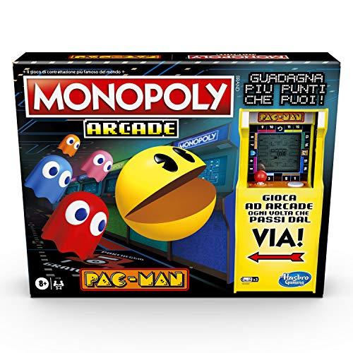 Hasbro Gaming Monopoly Arcade Pac-Man Gioco in scatola per bambini dagli 8 anni in su