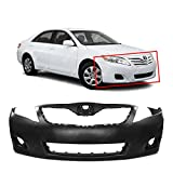 MBI AUTO - Primered, Front Bumper Cover Fascia for 2010 2011 Toyota Camry USA Built LE XLE 10 11, TO1000356