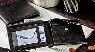 Mens Leather Black Wallet Purse