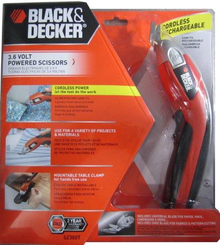 Cheap Black & Decker SZ360 3.6-Volt NiCad Cordless Power Scissors