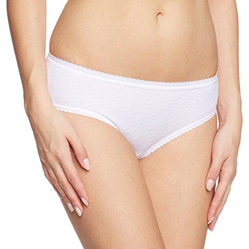Calida Damen Frottee Slip, Weiß (Weiss 001), 42 (Herstellergröße: S = 40/42)