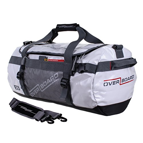 OverBoard 35 Litre Waterproof Adventure Duffle Bag - White