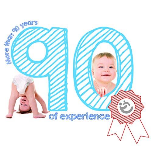roba Spieluhr 'Little Stars', Baby Einschlafhilfe, Textil-Stern waschbar, Babyzimmer Deko grau / weiß - 3