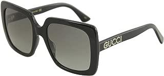 Gucci GG0418S Square Women's Sunglasses, 54mm