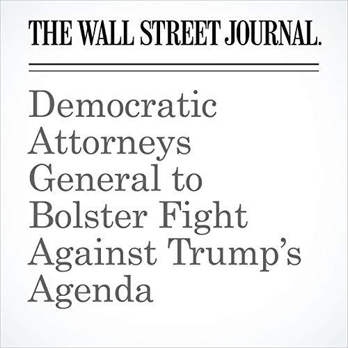 Democratic Attorneys General to Bolster Fight Against Trump's Agenda audiobook cover art